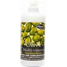 梨奧美有機橄欖納米多種維生素營養洗髮露