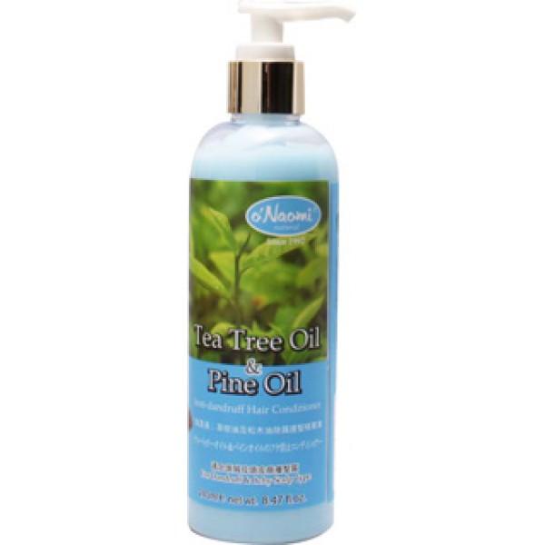 梨奧美茶樹油松木油去頭屑護髮精華素