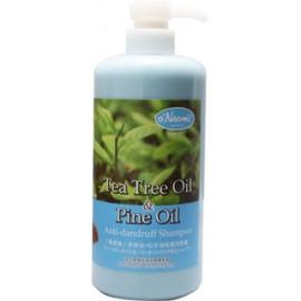 梨奧美茶樹油松木油去頭屑洗髮露