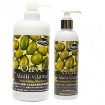 Olive & Nano Multi-vitamin Shampoo & Treatment