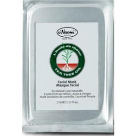 茶樹油控油除痘補濕面膜 (單片)